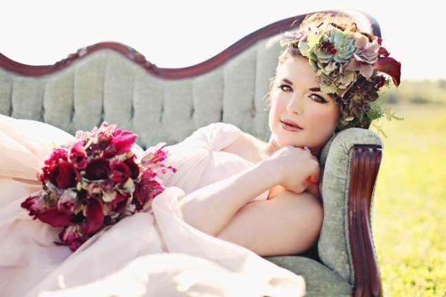 rustic fairy bride