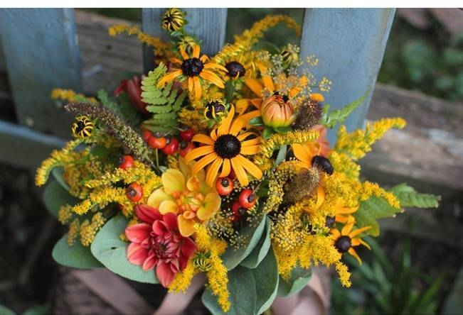 Wedding Flower Inspiration: Black-Eyed Susan