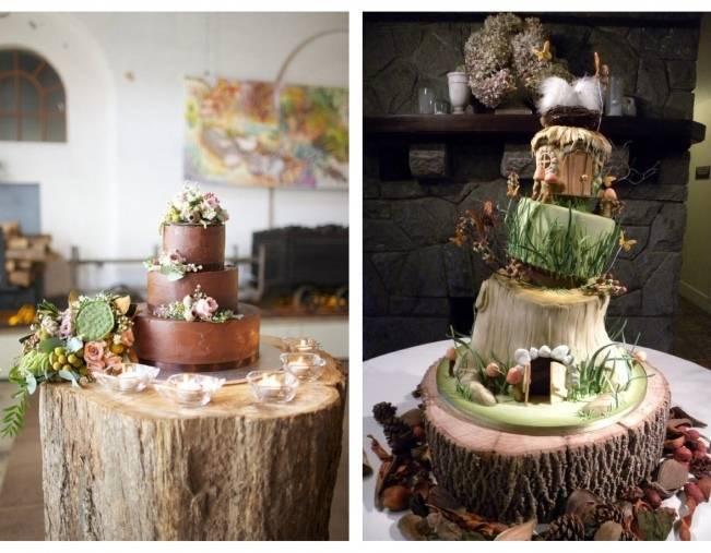 woodland faerie cake
