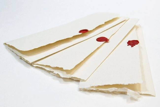 love letters with wax seals