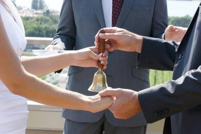 truce bell wedding ceremony