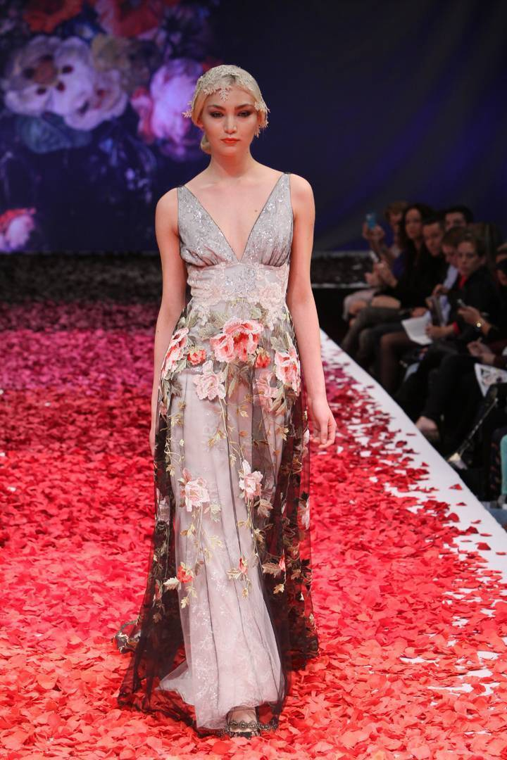Fresh from the Runway: Claire Pettibone 'Still Life' Collection 2014