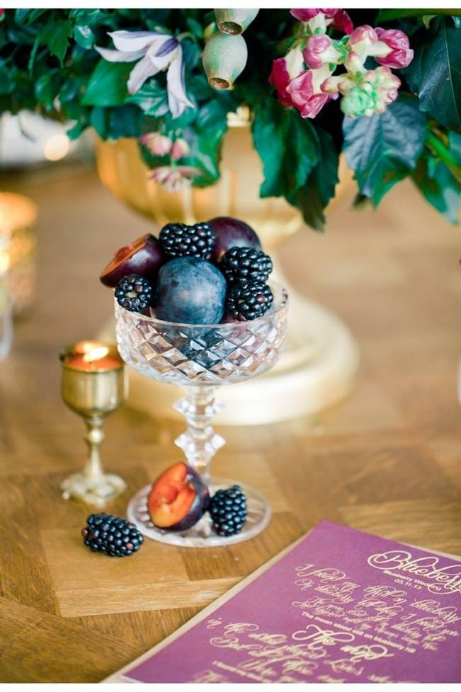 blackberry and plum wedding