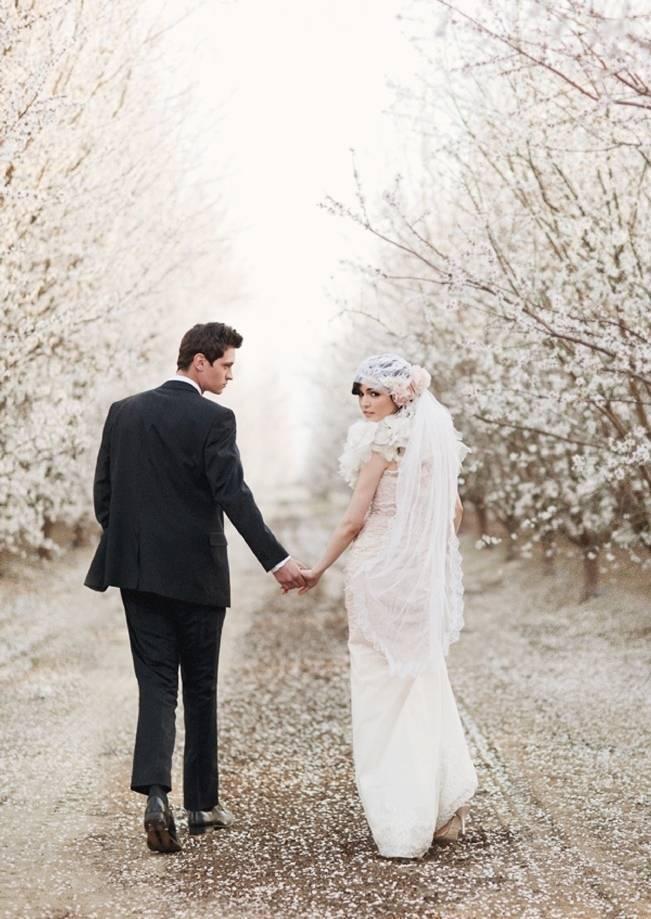 claire pettibone bolero - cherry blossom shoot