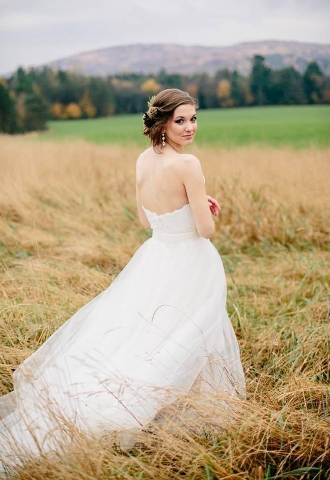 Ethereal Autumn Wedding Style {Ampersand Wedding Photography}