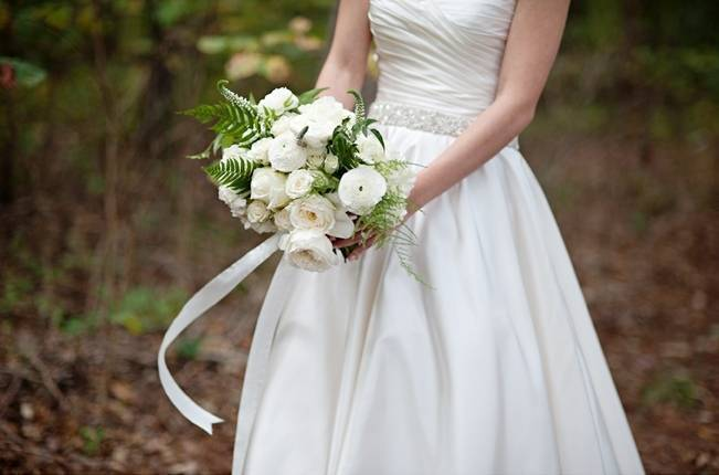 North Carolina Fern Filled Woodland Wedding {The Beautiful Mess}