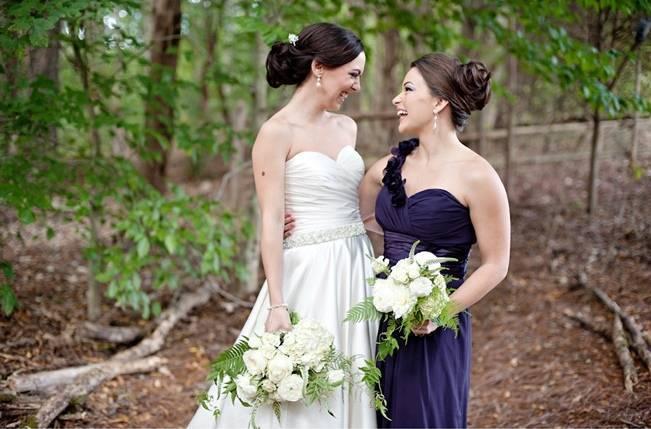 fern wedding bouquets
