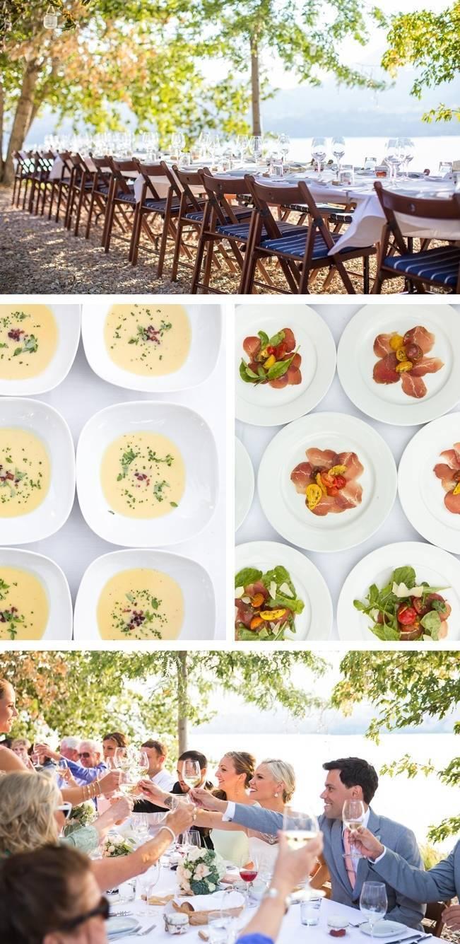 vineyard outdoor wedding table