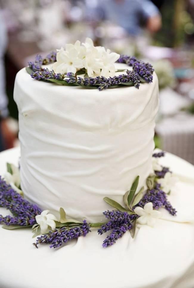 stephanotis wedding cake topper
