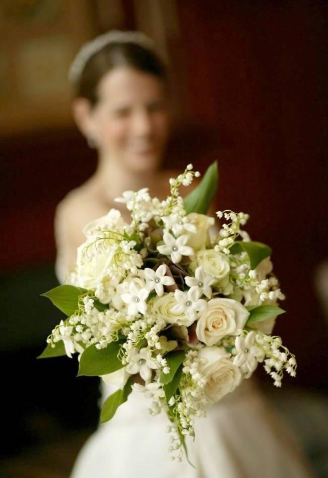 bouquet with stephanotis
