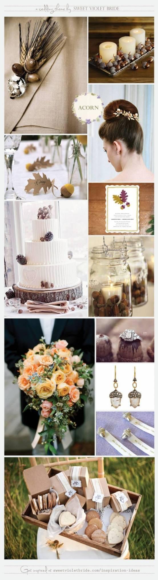 Wedding Inspiration Board #18: Acorn