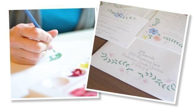 Custom Invitations by White Tulip Designs