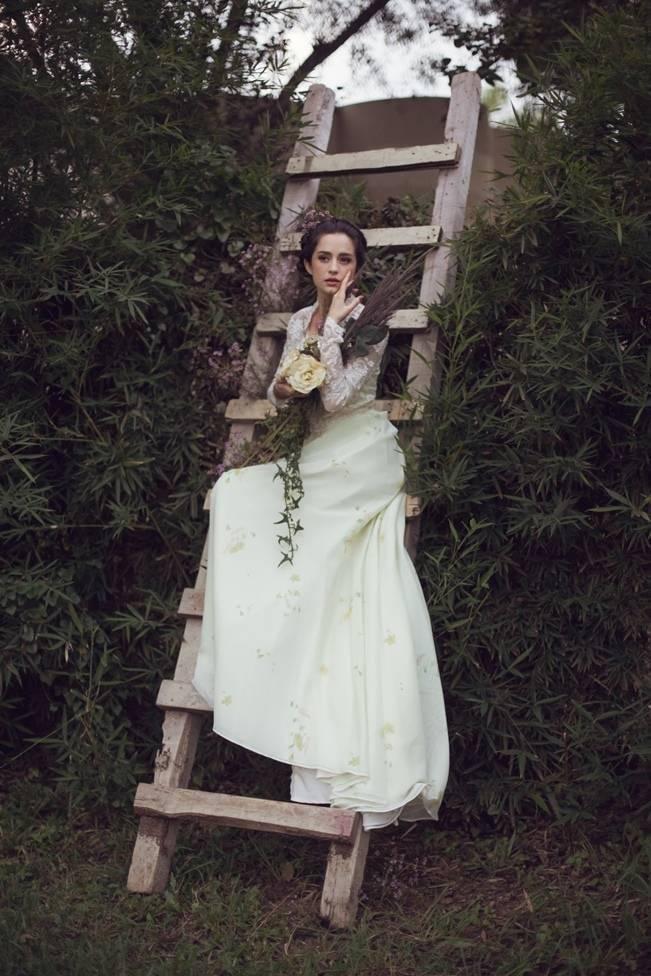 rustic garden bride