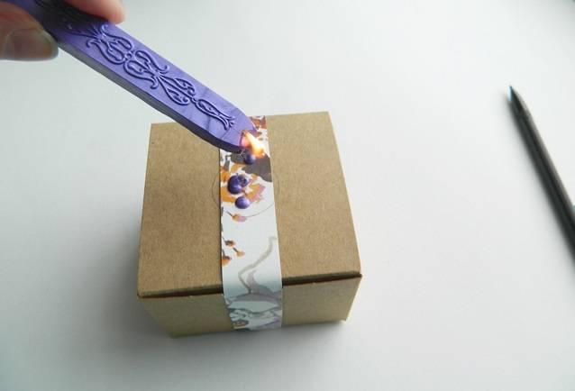 Light the sealing wax
