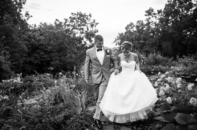 fairytale garden wedding