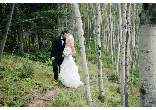 Rustic Mountain Wedding at The Delta Lodge {Photography by Ginevre} 11