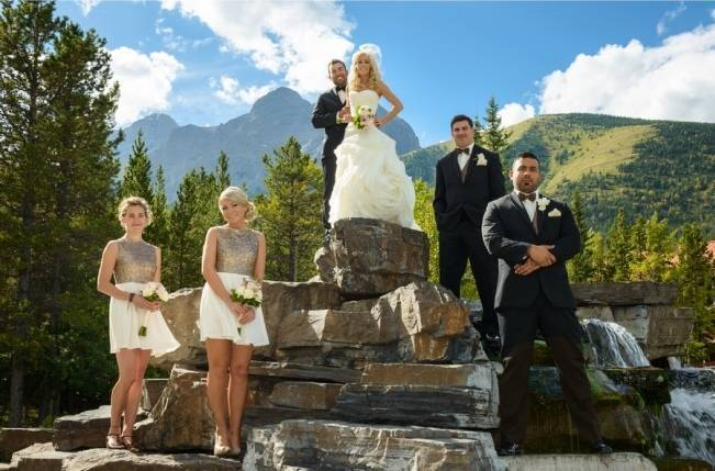 Rustic Mountain Wedding at The Delta Lodge {Photography by Ginevre} 18
