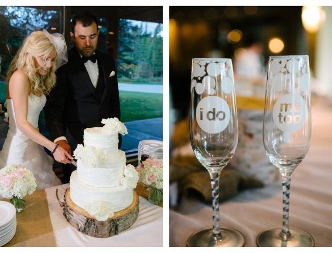 Rustic Mountain Wedding at The Delta Lodge {Photography by Ginevre} 23