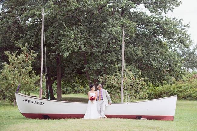 Rustic Thompson Island Surprise Wedding {Dreamlove Photography}