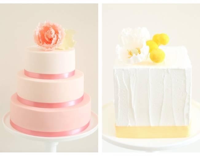 13 Inspiring Sugar Flower Wedding Cakes 2