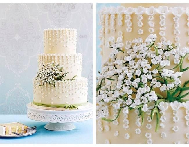 13 Inspiring Sugar Flower Wedding Cakes 6