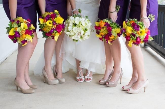 Backyard Shenandoah Valley Wedding {Gayle Driver Photography}