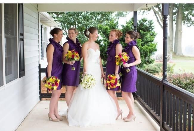 Backyard Shenandoah Valley Wedding {Gayle Driver Photography} 12