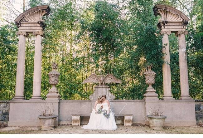 Bridal Inspiration Shoot at the Swan House {Rustic White Photography} 10