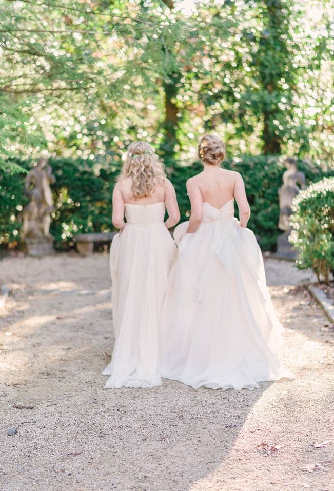 Bridal Inspiration Shoot at the Swan House {Rustic White Photography} 15