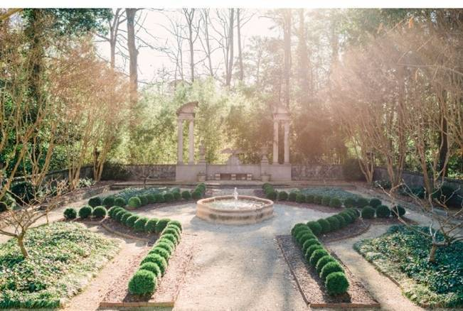 Bridal Inspiration Shoot at the Swan House {Rustic White Photography} 16