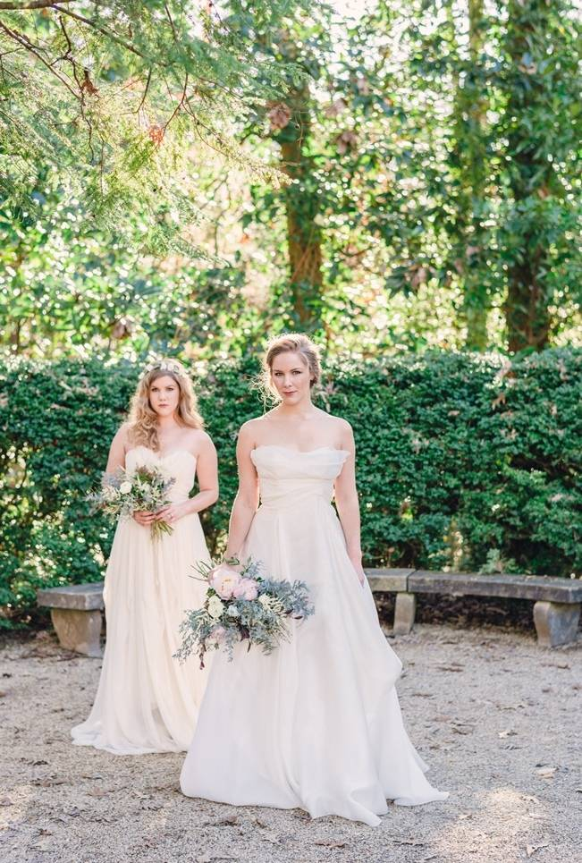 Bridal Inspiration Shoot at the Swan House {Rustic White Photography} 2