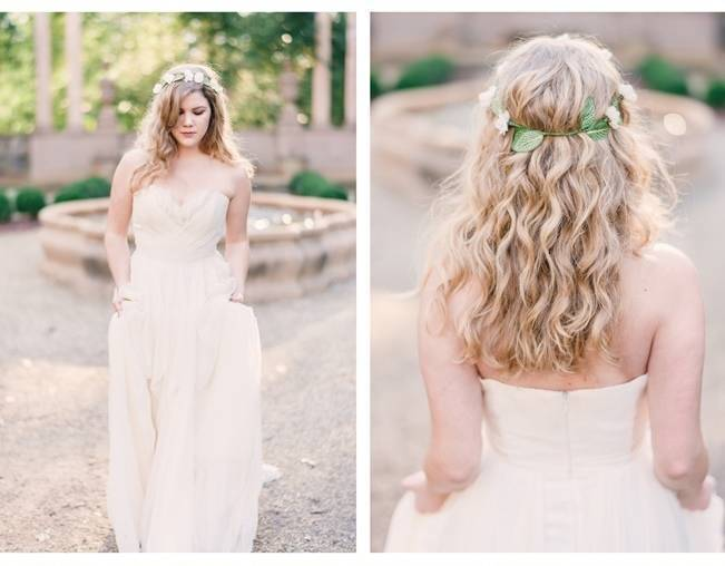 Bridal Inspiration Shoot at the Swan House {Rustic White Photography} 4