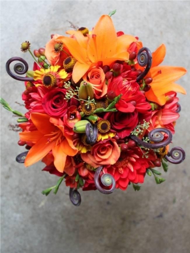 Fiddlehead fern wedding inspiration 1