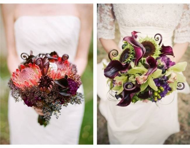 Fiddlehead fern wedding inspiration 2