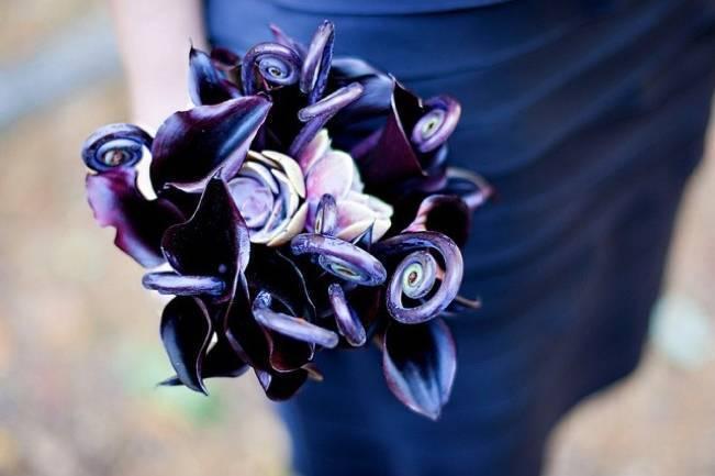 Fiddlehead fern wedding inspiration 3