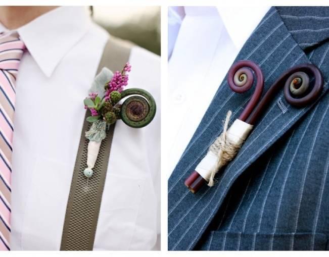 Fiddlehead fern wedding inspiration 4