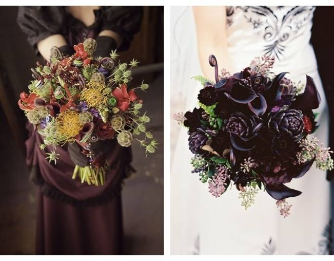 Fiddlehead fern wedding inspiration 6