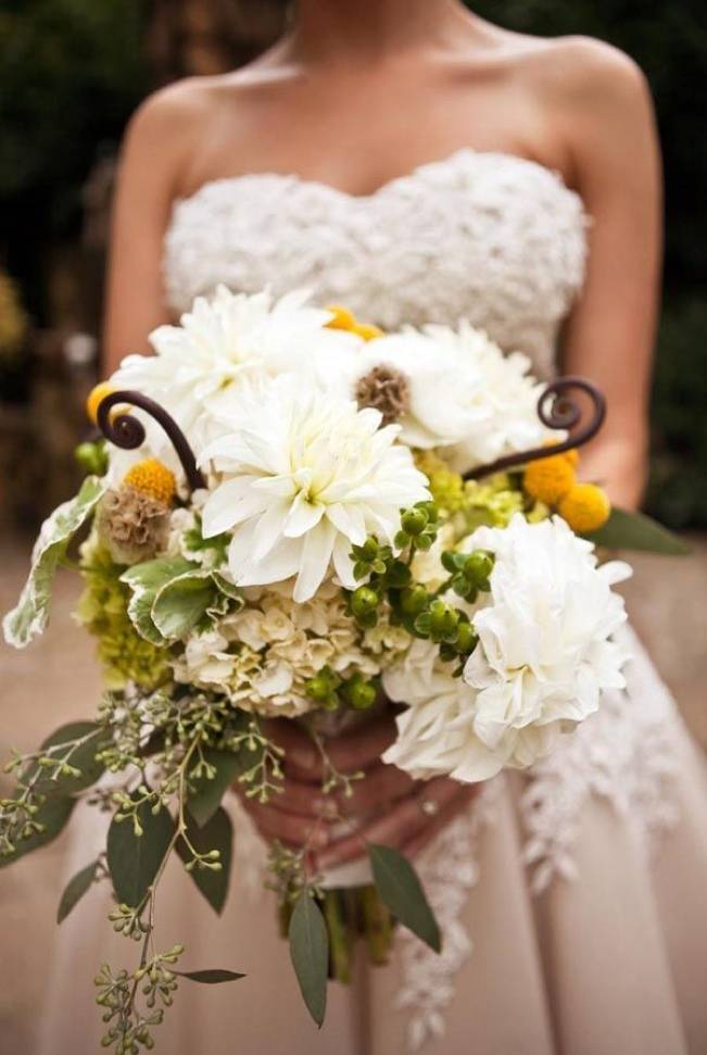 Fiddlehead fern wedding inspiration 7