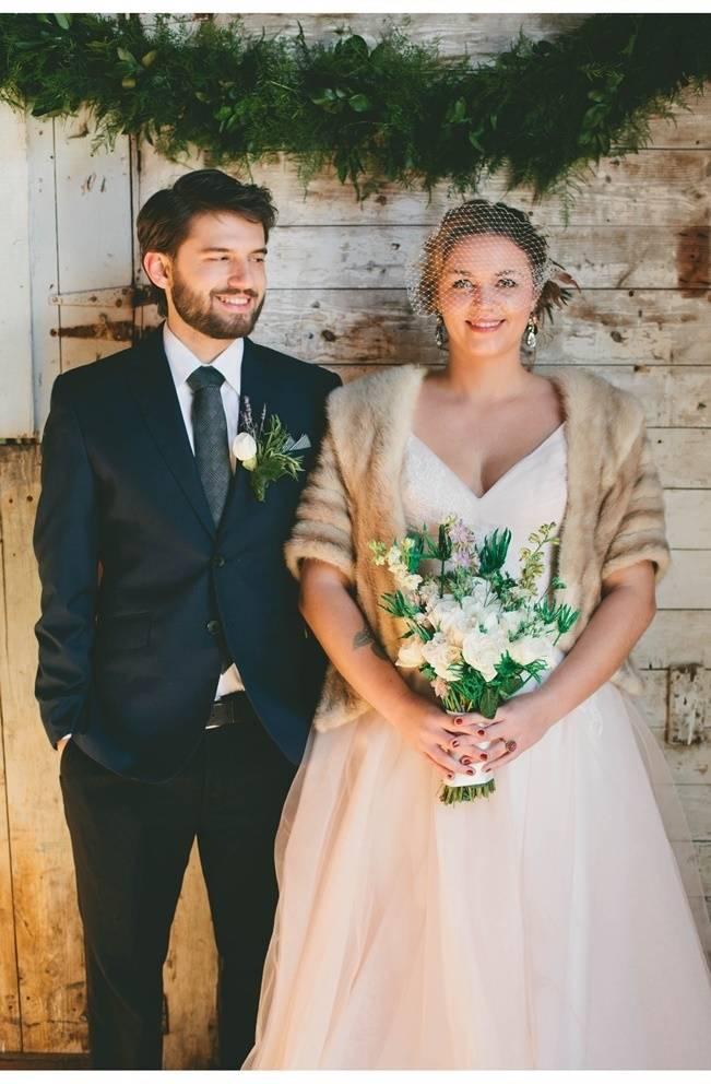 Lavender + Rosemary Winter Wedding Inspiration {Blue Jar Events + Jennifer Bakos Photography} 14_