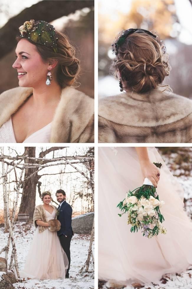 Lavender + Rosemary Winter Wedding Inspiration {Blue Jar Events + Jennifer Bakos Photography} 15