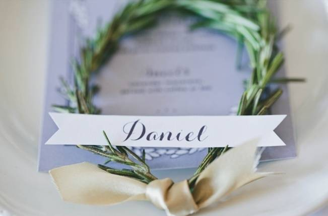 Lavender + Rosemary Winter Wedding Inspiration {Blue Jar Events + Jennifer Bakos Photography} 5