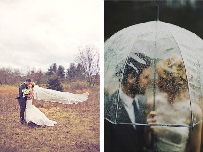 Prepare for Weather at Your Outdoor Wedding