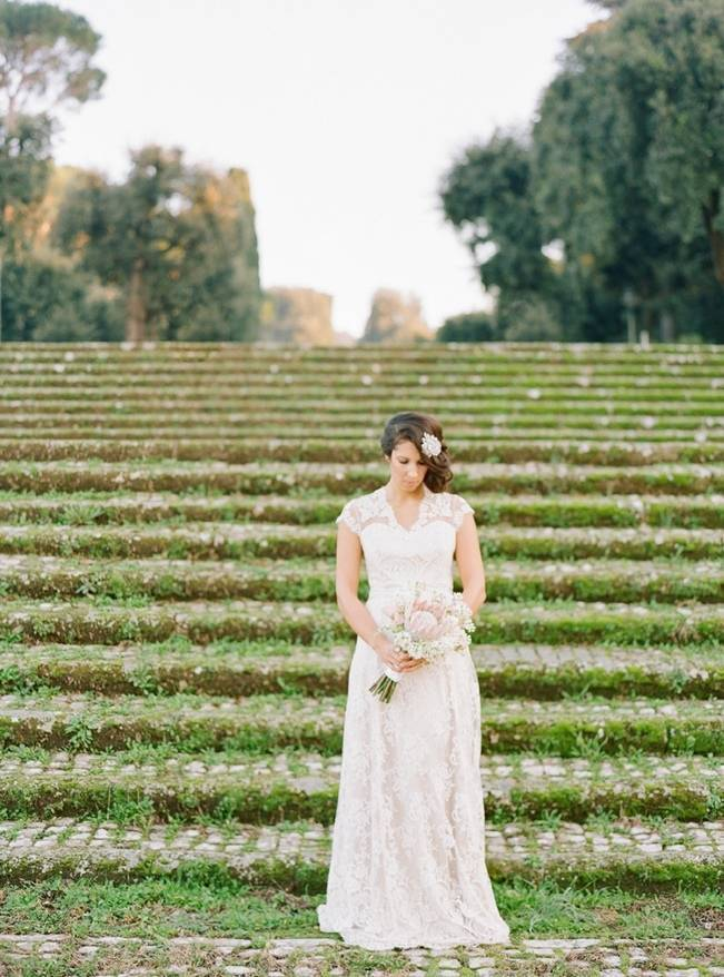 Rome Retreat Bridal Shoot in Frascati, Italy {Buffy Dekmar} 10