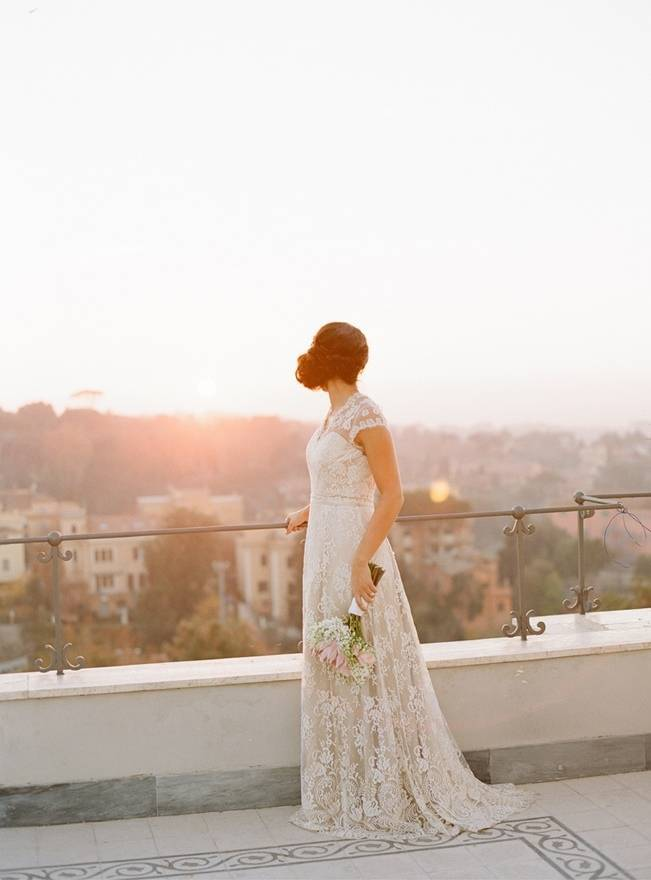 Rome Retreat Bridal Shoot in Frascati, Italy {Buffy Dekmar} 12
