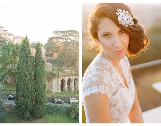 Rome Retreat Bridal Shoot in Frascati, Italy {Buffy Dekmar} 13