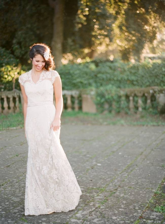 Rome Retreat Bridal Shoot in Frascati, Italy {Buffy Dekmar} 6