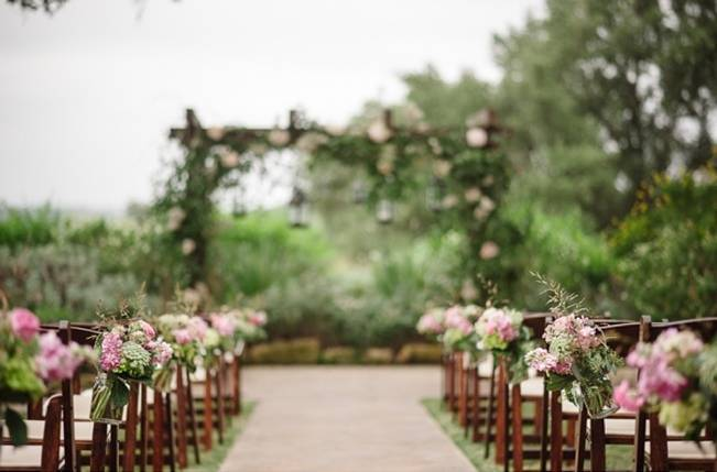 Use Ceremony Decor at Your Reception