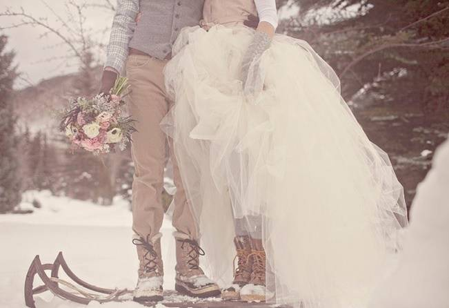 13 Winter Wedding Footwear Ideas