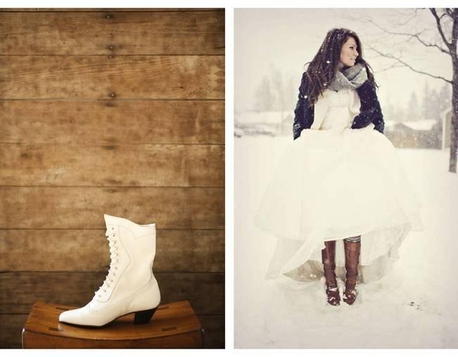 Winter Wedding Footwear Ideas 4