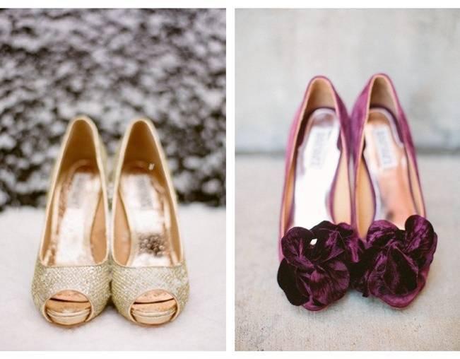 Winter Wedding Footwear Ideas 6